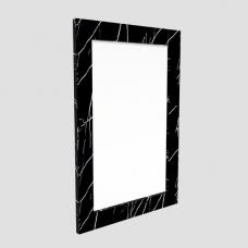 Santos Rectangular Wall Mirror In Black