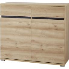 Lissabon Compact Sideboard In Nobel Beech With 2 Doors