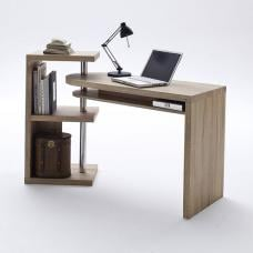 Sydney Rotating Office Desk in Oak