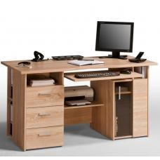 Allison Sanoma Oak Computer Work Station And Drawers