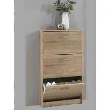 Alaska Shoe Storage Cabinet In Oaktree