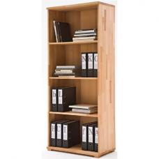 Cento Solid Core Beech Shelving Unit With 4 Shelf
