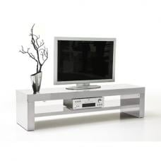 Gina Lowboard LCD TV Stand In White High Gloss