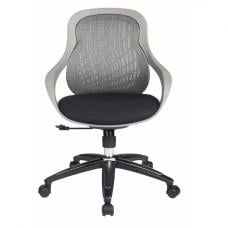 Croft Home And Office Chair In Black And Grey With Padded Seat