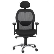 Premix Designer Mesh Home And Office Chair In Black