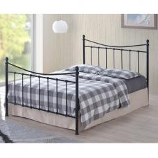 Alderley Classic Metal Bed In Black