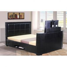 Andorra TV Bed in Black