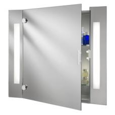 Bathroom Cabinet Illuminated Mirror Complete With Shaver Socket