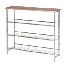 Bodo 3 Tier Metal Shoe Rack