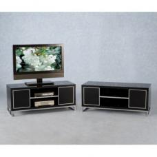 Stefan Hi Gloss  Black TV Stand