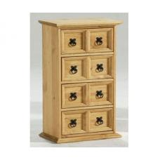 Corona Wooden 8 Drawers Chest