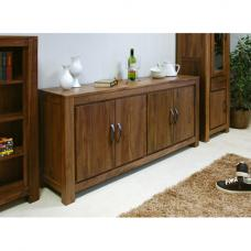 Sayan Walnut Large Low Sideboard
