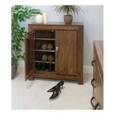 Sayan Walnut Shoe Cupboard