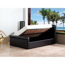 Carolina Gaslift Sleigh Bed