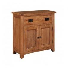 Hailey Solid Oak Finish 2 Door Sideboard With 1 Drawer