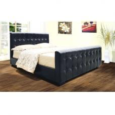 Dakar PU Faux Leather Bed