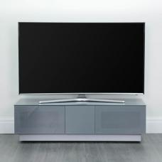 Castle LCD TV Stand Large In Grey With Glass Door
