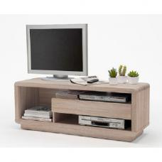 Gregor LCD TV Stand in Sawn Oak Finish With 1 Drawer