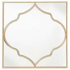 Ellia Wall Mirror In Gold Finish