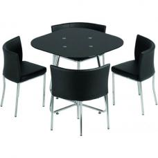 Islington Stowaway Glass Dining Set
