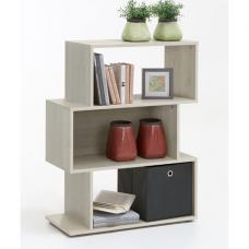 Kubi2 Shelving Unit In Larch With 3 Compartments