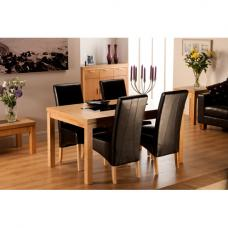 Lombok Dining Table  And 6 Dining Chairs