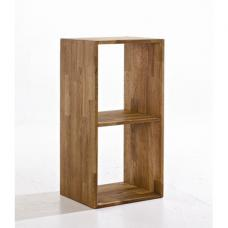 Maxio Solid Oak 2 Cube Display Stand
