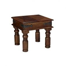 Bursa Lamp Table Square In Sheesham Wood