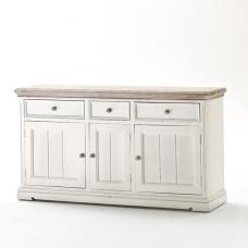 Opal Sideboard In White Pine With Drawers