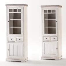 Opal Display Cabinet With  Glass Door Right Side