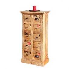 Ouro 10 Drawers Wooden Chest Of Drawers