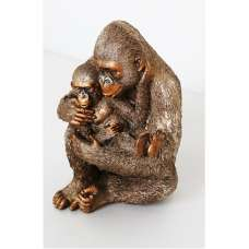 Great Ape Adult And Child Sculpture