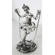 Girl With Skipping Rope Sculpture