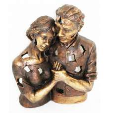Couple Hugging Sculpture