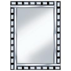 Black And Clear Design 60x80 Rectangle Mirror