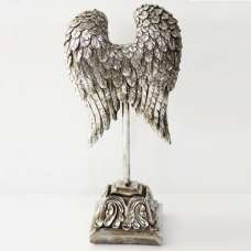 Angel Wing on Stand Sculpture