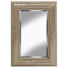 Zofia Decorative Wall Mirror Rectangular In Champagne
