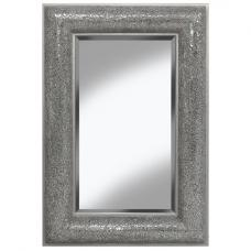 Zofia Decorative Wall Mirror Rectangular In Silver