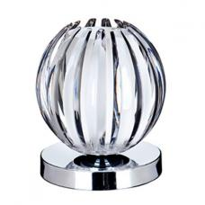 Chrome Touch Table Lamp With Clear Acrylic Frosted Glass