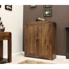 Shiva Walnut Shoe Cupboard