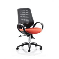 Sprint Airmesh Office Chair Orange