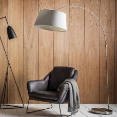 Kombus Floor Lamp With White Shade And Diffuser