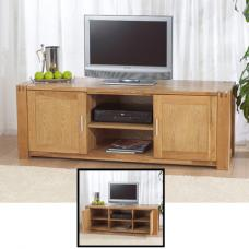 Milan Oiled Oak TV Stand