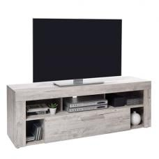 Elista Small LCD TV Stand In Sand Oak With 1 Drawer