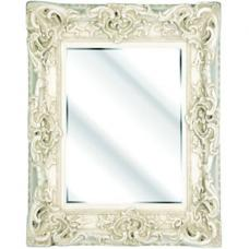 Ornate Cream Bevelled Mirror