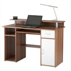 Parker Computer Work Station In Walnut Effect