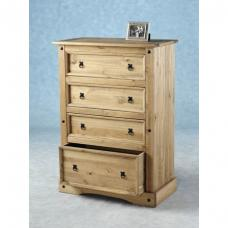 Corona 4 Drawer Chest of Drawers