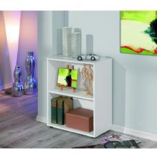 Arco Shelving Unit Or Bookcase In White With 1 Tier