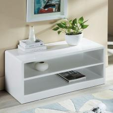 Arden Contemporary TV Stand In White High Gloss