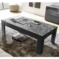 Arlon Modern Coffee Table Rectangular In Grey High Gloss